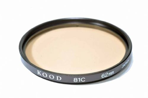 High Quality Optical Glass 81C Filter Made in Japan 62mm Kood